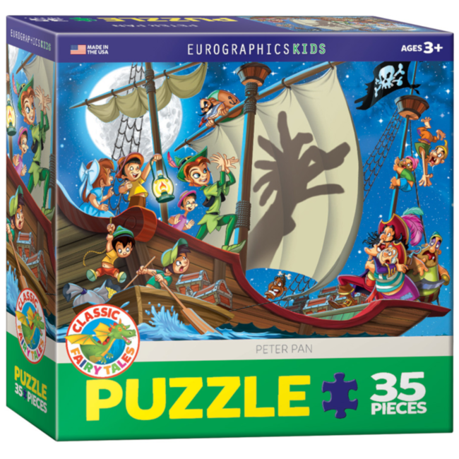 EuroGraphics Puzzle Peter Pan (35 pieces)