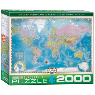 EuroGraphics Puzzle Map of the World (2000 pieces)