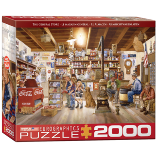 EuroGraphics Puzzle The General Store (2000 pieces)