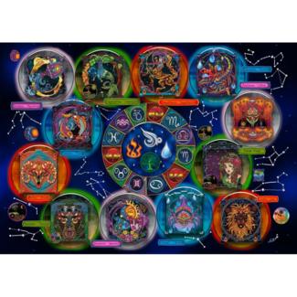 JaCaRou Puzzles Zodiac (2000 pieces)