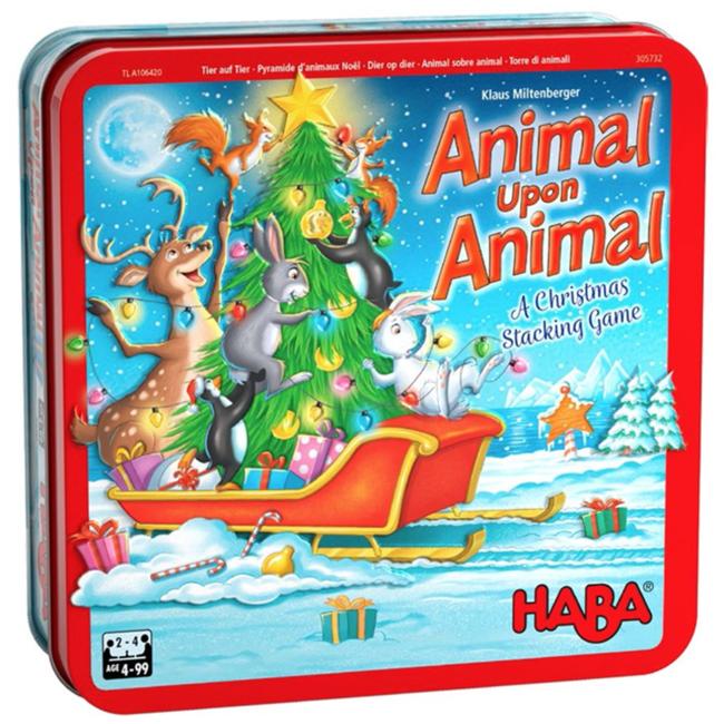Haba Animal Upon Animal - Christmas [multilingue]