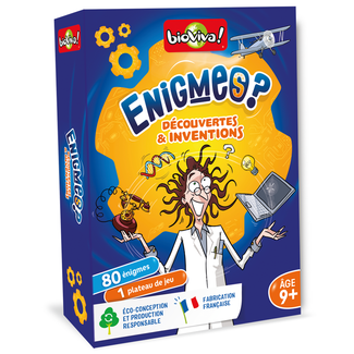 BioViva Enigmes ? - Découvertes & inventions [French]