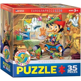 EuroGraphics Puzzle Pinocchio (35 pieces)
