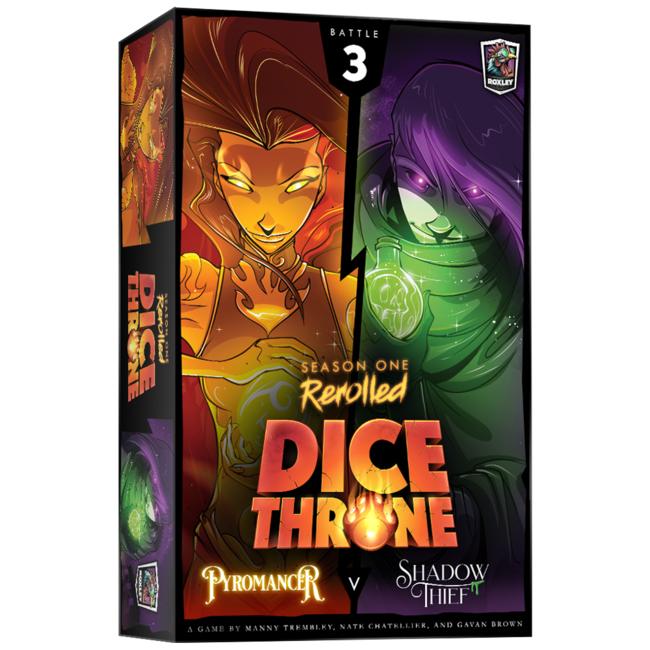 Roxley Dice Throne - Season One Rerolled : (3) Pyro VS Shadow Theif [English]