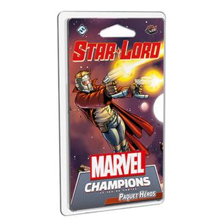 Fantasy Flight Games Marvel Champions (JCE) : Paquet Héros - Star-Lord [français]