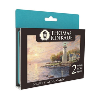 CEACO Deluxe Playing Cards - Thomas Kinkade