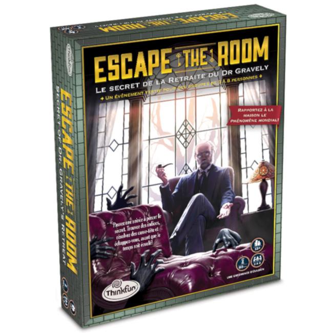 Thinkfun Escape the Room - Le Secret de la Retraite du Dr. Gravely [French]