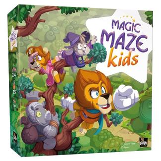 Sit Down ! Magic Maze - Kids [French] - Damaged Box - 001