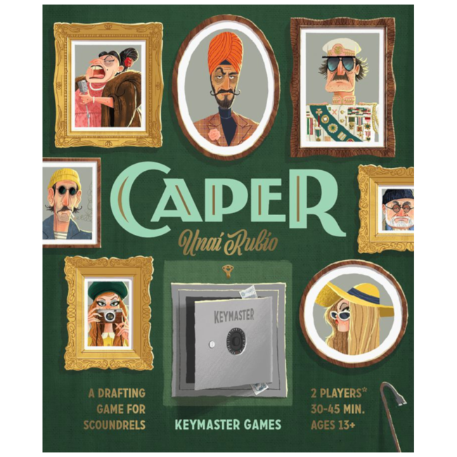Keymaster Games Caper [English]