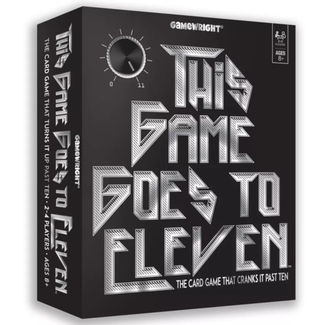 Gamewright This Game Goes to Eleven [English]