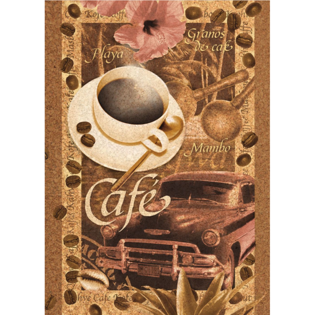 Clementoni Coffee (500 pieces)