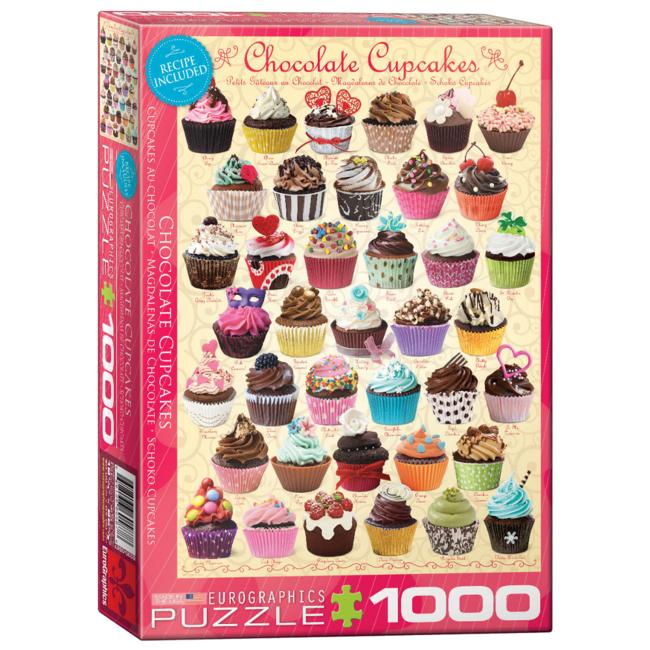 EuroGraphics Puzzle Chocolate Cupcakes (1000 pieces)