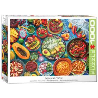 EuroGraphics Puzzle Mexican Table (1000 pieces)