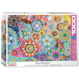 EuroGraphics Puzzle Thai Mosaics (1000 pieces)