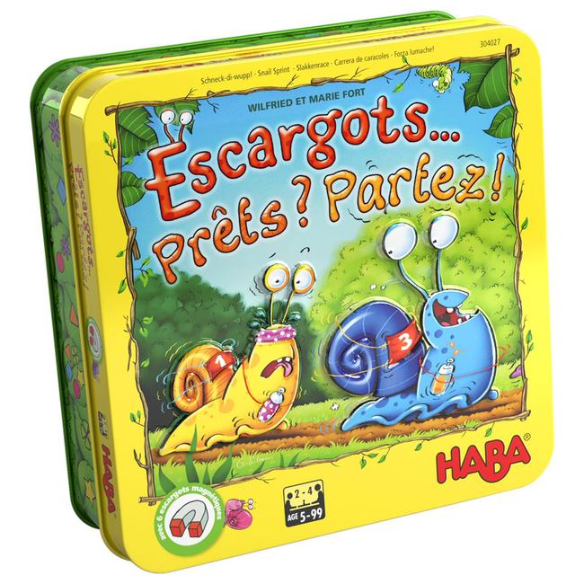 Haba Escargots... Prêts ? Partez ! [French]