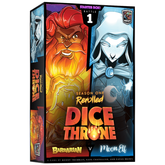 Roxley Dice Throne - Season One Rerolled : Barbarian Vs Moon Elf [English]