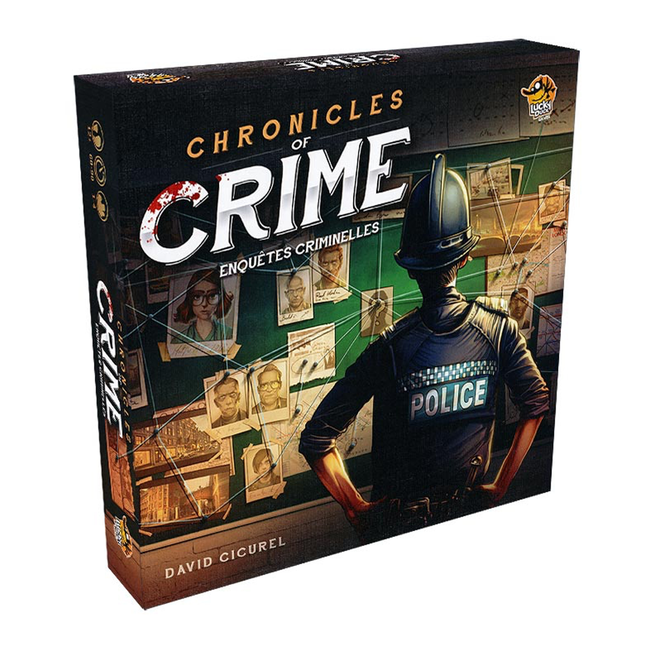 Lucky Duck Games Chronicles of Crime [French]