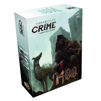 Lucky Duck Games Chronicles of crime - 1400 [français]