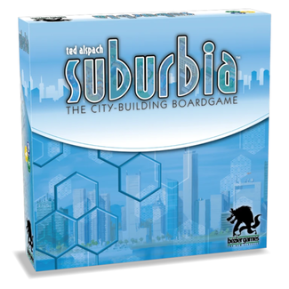 Bézier Games Suburbia (Second Edition) [anglais]