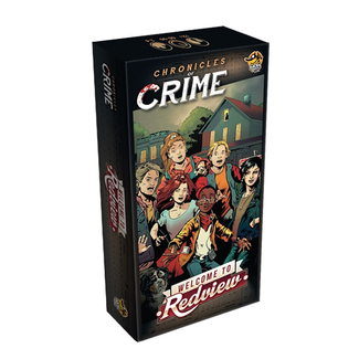 Lucky Duck Games Chronicles of Crime : Welcome to Redview [French]
