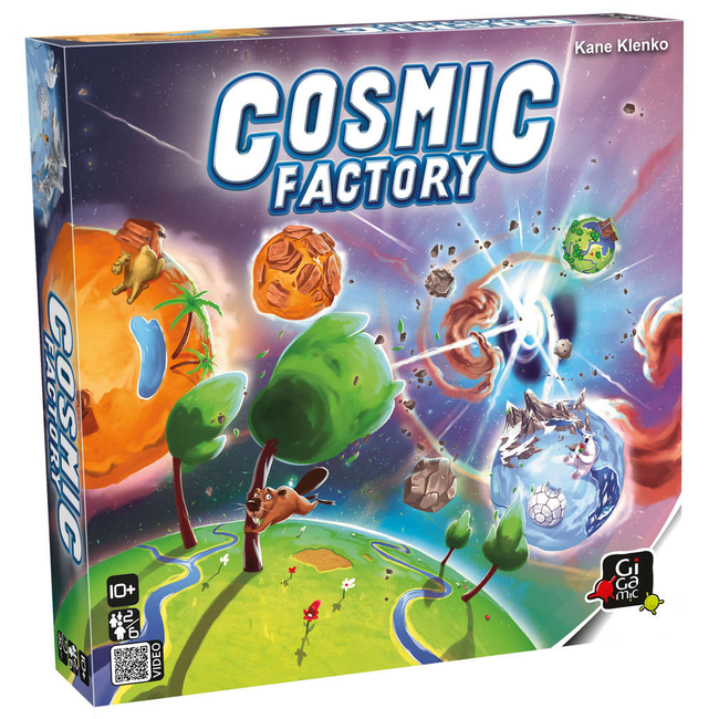 Gigamic Cosmic Factory [anglais]
