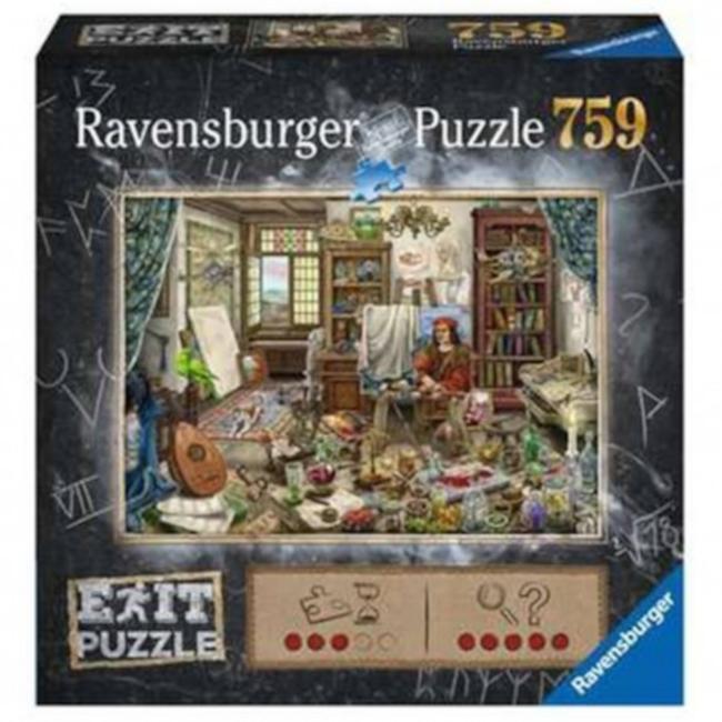 Ravensburger Escape Puzzle - The Artist's Studio (759 pieces) [Multi]