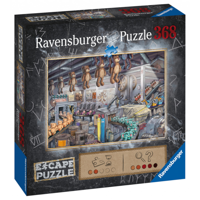 Ravensburger Escape Puzzle - The Toy Factory (368 pieces) [Multi]