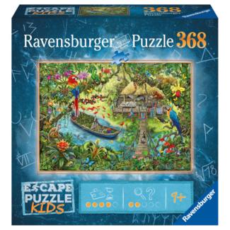 Ravensburger Escape Puzzle Kids - Expédition dans la jungle (368 pièces) [multilingue]