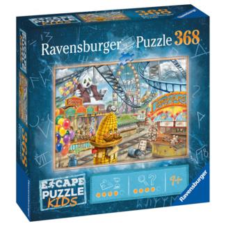 Ravensburger Escape Puzzle Kids - Le parc d'attractions (368 pièces) [multilingue]