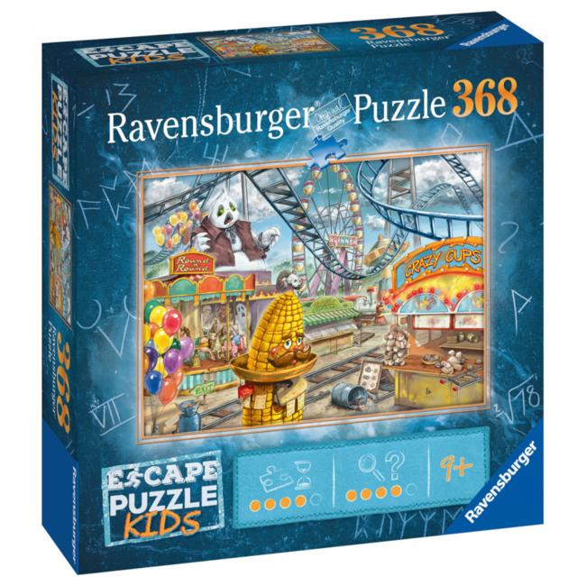 Ravensburger Escape Puzzle Kids - Amusement Park Plight (368 pieces) [Multi]