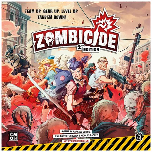 CMON Zombicide (2nd Edition) [anglais]