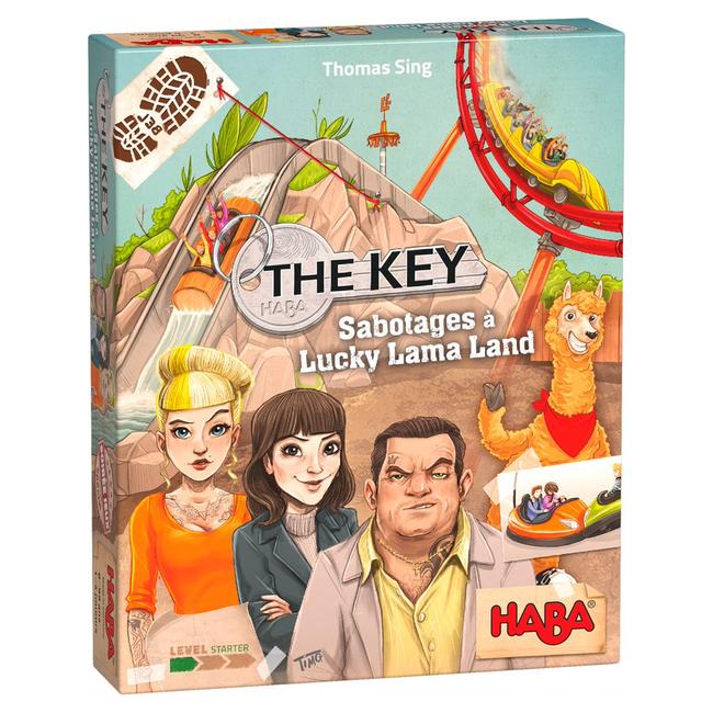 Haba Key (the) - Sabotages à Lucky Lama Land [français]