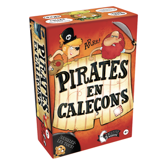 La belette moqueuse Pirates en caleçon [French]
