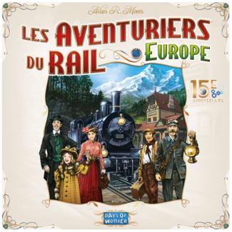 Days of Wonder Aventuriers du rail (les) - Europe - 15e anniversaire [French]