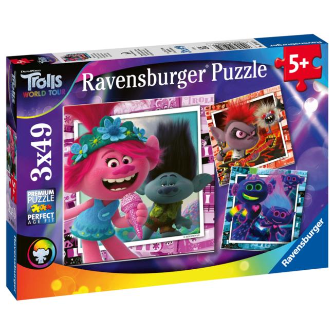 Ravensburger Trolls 2 - World Tour (3x49 pieces)