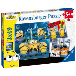 Ravensburger Drôles de Minions (3x49 pièces)