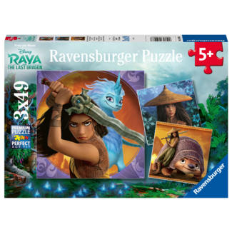 Ravensburger Raya and the Last Dragon (3x49 pièces)