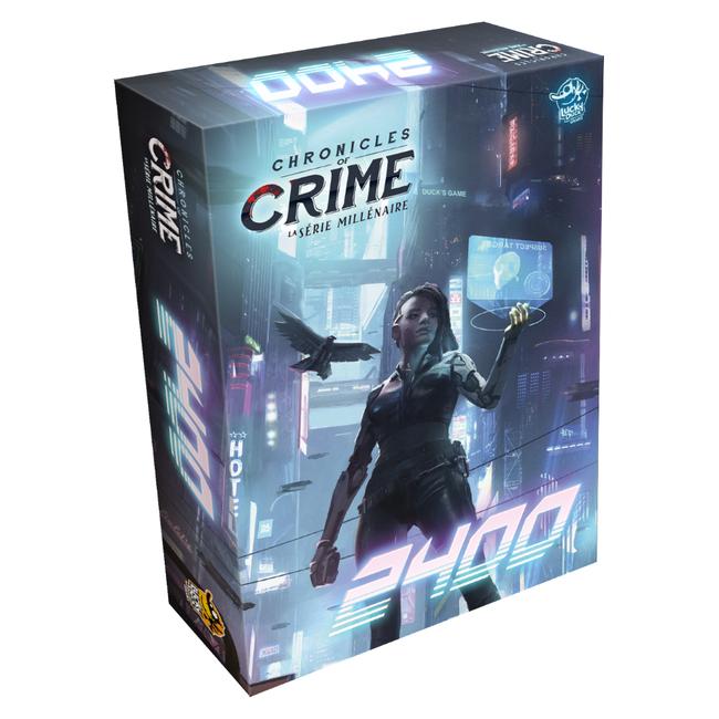 Lucky Duck Games Chronicles of Crime - 2400 [français]
