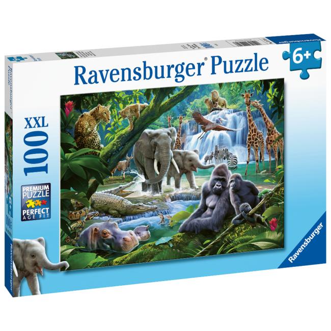 Ravensburger Les animaux de la jungle (100 pièces)