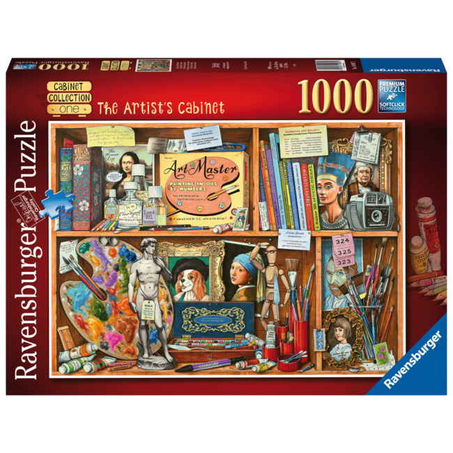 Ravensburger Artist's Cabinet (1000 pieces)