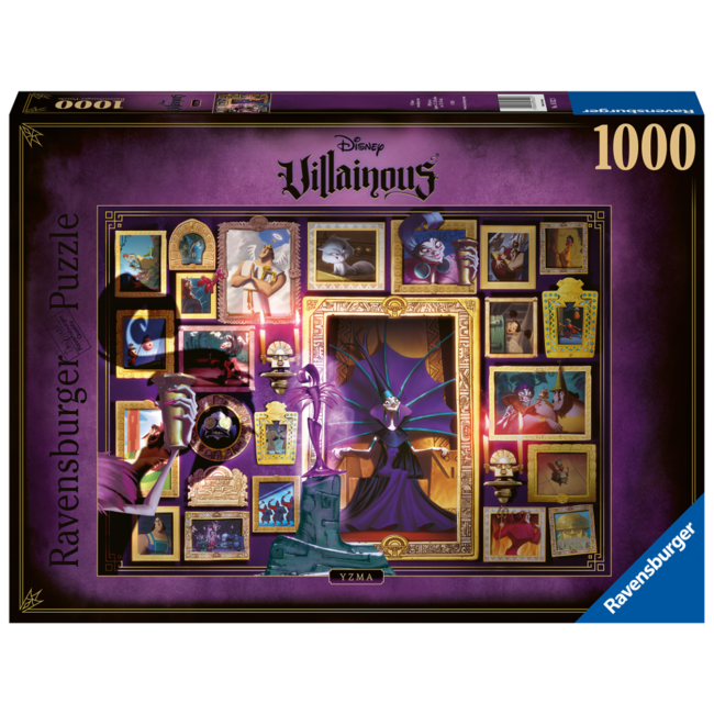 Ravensburger Disney Villainous : Yzma (1000 pieces)