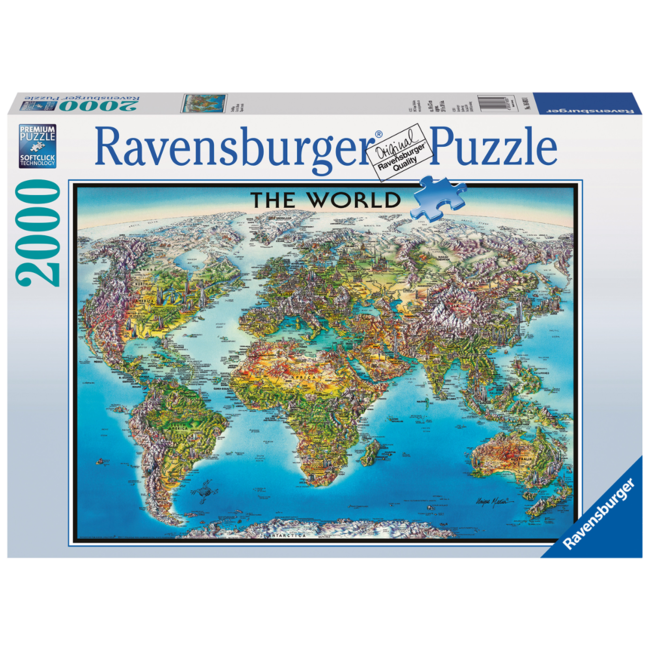 Ravensburger World Map (2000 pieces)