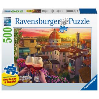 Ravensburger Cozy Wine Terrace (500 pieces)