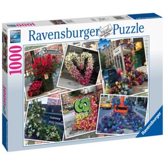Ravensburger NYC Flower Flash (1000 pieces)