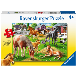 Ravensburger Happy Horses (60 pieces)