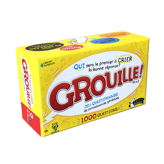 La belette moqueuse Grouille! [French]