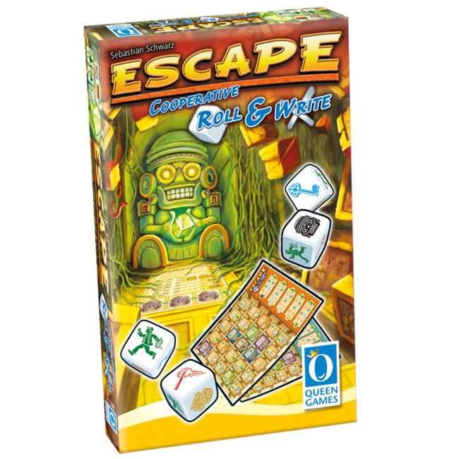 Queen Games Escape - Roll & Write [anglais]