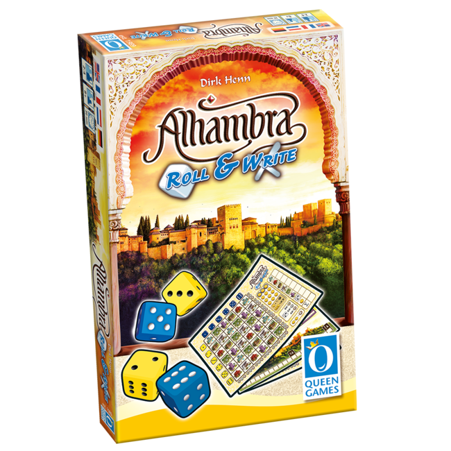 Queen Games Alhambra - Roll & Write [anglais]
