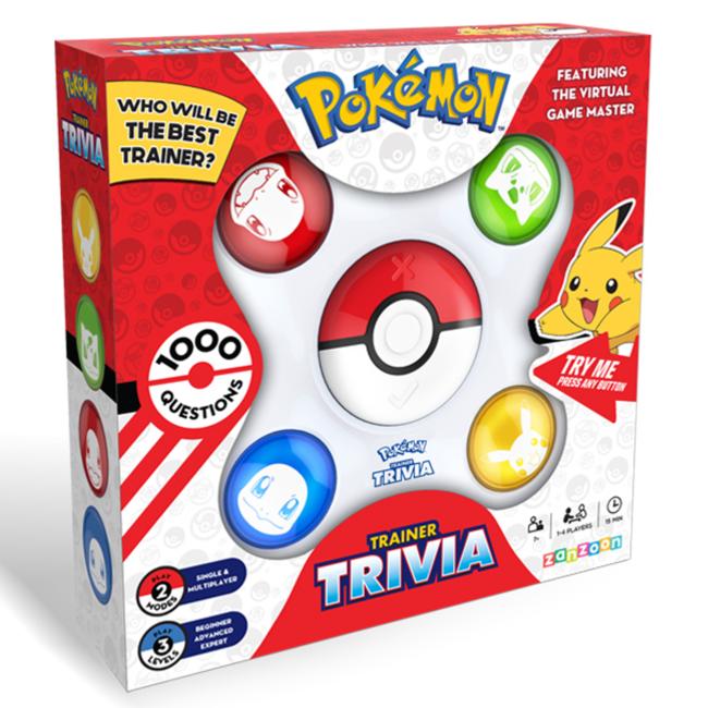 Zanzoon Pokémon Trainer Trivia [anglais]