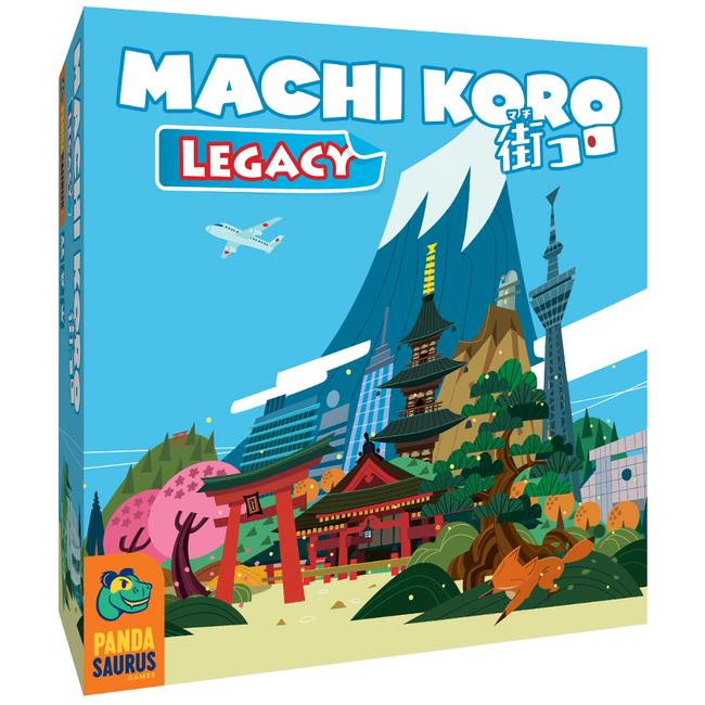 Pandasaurus Games Machi Koro - Legacy [French]